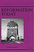Reformation Today Issue 136 by Erroll Hulse