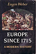 Europe since 1715: a modern history by Eugen…