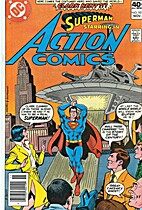 Action Comics # 501 by Cary Bates