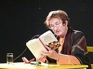 Author photo. Katja Behrens at the Erlanger Poetenfest 2012 [credit: manfred.sause@volloeko.de; grabbed from Wikimedia Commons]