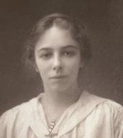 Author photo. Olive Gwendoline Potter, c1919. Courtesy of Royal London Hospital Archives.
