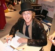 Author photo. Brösel bei einer Signierstunde auf der Frankfurter Buchmesse 2006