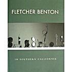 Fletcher Benton in southern California by…