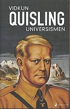 Universismen by Vidkun Quisling
