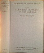The first five centuries of the church by…