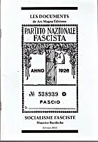 Socialisme fasciste by Maurice Bardeche