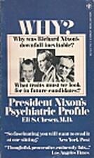 President Nixon's Psychiatric Profile: A…