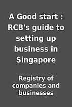 A Good start : RCB's guide to setting up…