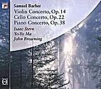 Violin Concerto Op.14,Cello Concerto…