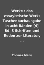 Werke : das essayistische Werk;…