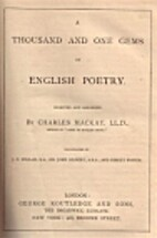 A Thousand and One Gems of English Poetry by…