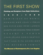 The First show : painting and sculpture from…