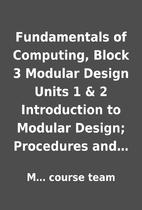 Fundamentals of Computing, Block 3 Modular…