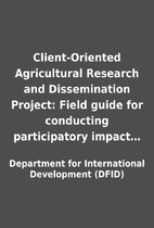 Client-Oriented Agricultural Research and…