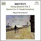 String quartet no. 3 ; Simple symphony ;…