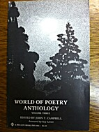 World of poetry anthology. Volume three