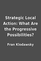 Strategic Local Action: What Are the…