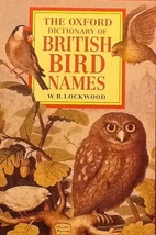 The Oxford Dictionary of British Bird Names…