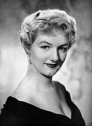 Author photo. Joan Sims in 1957