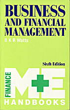 Business and Financial Management (M & E…