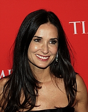 Author photo. Demi Moore at the 2010 Time 100 Gala [source: David Shankbone via Wikipedia]