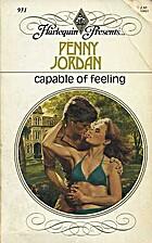 Capable of Feeling by Penny Jordan