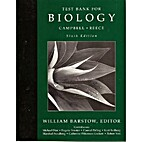 Test Bank For Biology by William Barstow