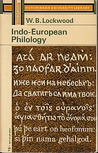 Indo-European Philology by William Burley…