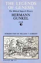 The Legends of Genesis by Hermann Gunkel