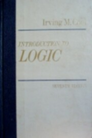 Introduction to Logic 7ED – tekijä:…