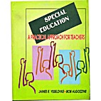 Special Education by James E. Yasseldyke