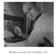 Author photo. Frank Bonham 1945