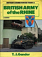 British Army Of The Rhine by Terry Gander