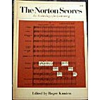 The Norton Scores: An Anthology for…
