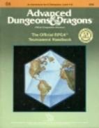Official RPGA Tournament Handbook (Advanced…
