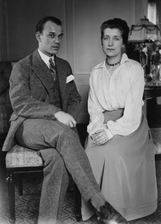 Author photo. Vaslav and Romola Nijinski