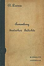 Sammlung deutscher Gedichte : für Schule…