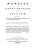Memoirs of Great Britain and Ireland from…
