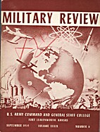 Military Review (Volume XXXIX Number 6)