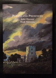 Powers and Presences by Mark Valentine