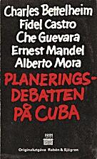 Planeringsdebatten på Cuba : värdelag,…