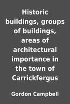 Historic buildings, groups of buildings,…