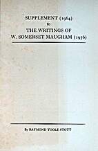 Supplement (1964) to The Writings of William…