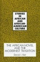 the african novel and the modernist…
