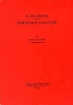Grammar of the Phoenician Language (American…