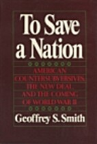 To Save a Nation: American Extremism, the…