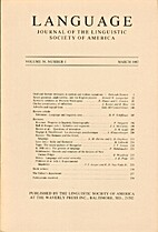 Language 58 (1982) 1: 1-263