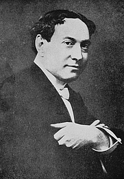 Author photo. Image from <b><i>The art of magic</i></b> (1921) by T. Nelson Downs