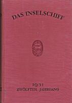 Das Inselschiff Zwölfter Jahrgang 1931