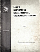 Labour, Cooperatives, Social Welfare and…